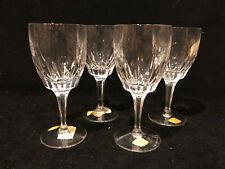 "4 Vintage Josair Crystal Wine Glasses 5 ¾"", Germany, NWT"