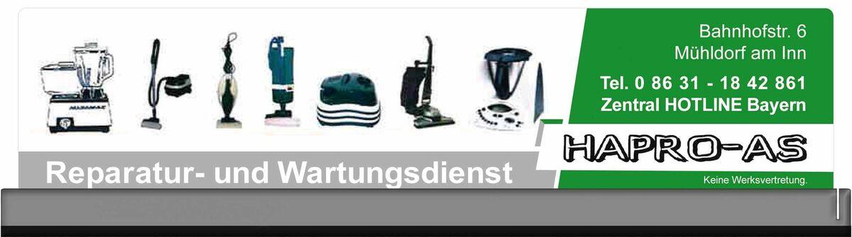 Hapro-ASStaubsauger&Küchenmaschinen