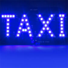 Hot Sale Taxi Cab Windscreen Windshield Sign Blue LED Taxi Light Lamp Bulb TSUS