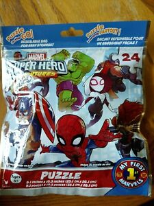 Puzzle on the Go!  MARVEL Super Hero Adventures 24 Pieces