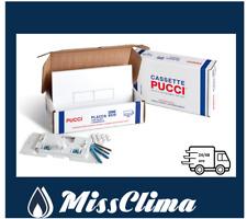 PLACCA PUCCI ECO BIANCA PER CASSETTA WC INCASSO 2 PULSANTI 8017 9560 (ex 5910)