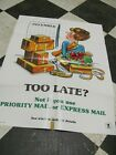 USPS Priority  Mail poster