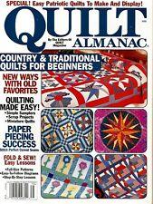 2002 Quilt Almanac Magazine #Q39