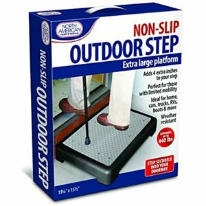 North American Health + Wellness Mobility Step, One Color, Large 19.25 X &