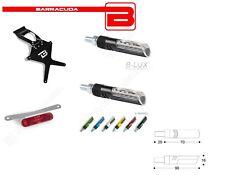 BARRACUDA Portatarga + Frecce IDEA + Catadiottro per Kawasaki ZX10-R 2004 2005