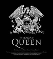 40 Years of Queen by Doherty, Harry Book The Fast Free Shipping