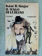Il mago di Lublino di Isaac B.Singer  i Narratori 8 Ed.Longanesi 1960