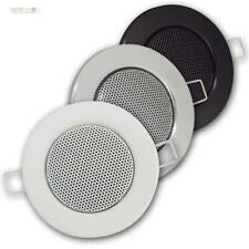 Dynavox Decken Einbaulautsprecher, Einbau-Lautsprecher Deckeneinbau Halogen-Look