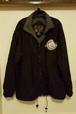 The Bare Fox Black Los Angeles Players Full Zip Jacket Size XL