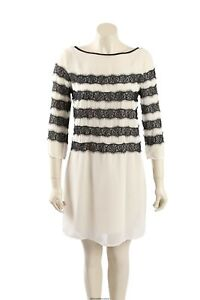 NEW Tommy Hilfiger - Size L/14 - lace trim cocktail dress-RRP:$149.50