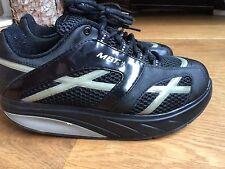 ladies black MBT trainers shoes size 5