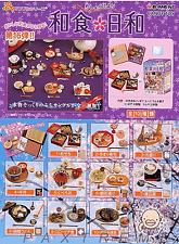 Re-ment #16 Miniature Japanese Food Sushi Noodle Osechi RARE