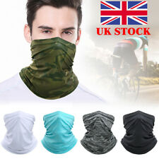 Tactical Military Balaclava Face Cover Paintball Airsoft Neck Warmer Headgear UK