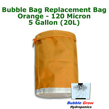 ORANGE 120 MICRON 5 GALLON (20L) BUBBLE BAG FILTRATION HERBAL ICE EXTRACTION