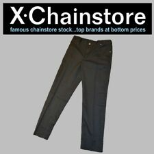 X Chain Store New School Trousers 7-8 Years Black Top Quality