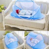 New KidsTime Baby Travel Bed,Baby Bed Portable Folding Baby Crib Mosquito Net WW