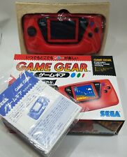 NEW SEGA Game Gear Console Rare HGG-3215 RED Tested Retro Vintage JAPAN gg