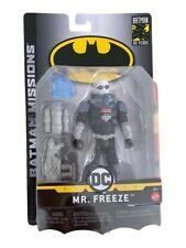 Batman Missions 6-inch Basic Figure Mr. Freeze. New unopened.