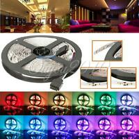 5/10/15M 3528/5050 SMD 300 LED Bande Ruban Flexible Strip Lumiere Eclairage 12V