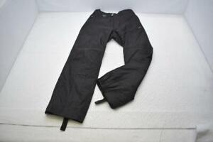 Spyder XT Ski Pants Thinsulate Black Snow Board Performance Mens Sz Medium