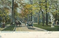 INDIANAPOLIS IN – Woodruff Place Middle Drive Tuck Postcard – udb (pre 1908)