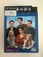 FRIENDS SERIE 6 EPISODIOS 122 A 145 4 DVD A DOBLE CARA ESPAÑOL INGLES ALEMAN AM