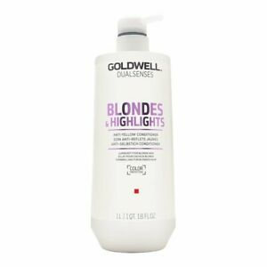 Goldwell Dualsenses Blondes and Highlights Conditioner, 33.79 Ounce