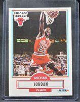 1990 - 1991 Fleer Michael Jordan Chicago Bulls #26 Basketball Card
