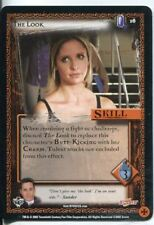 Buffy CCG TCG Angels Curse Limited Edition Card #16 The Look