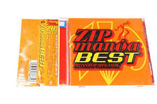 ZIP MANIA BEST TOCP64105 JAPAN CD OBI A9111