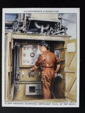 No.19 FLIGHT MECHANIC & INSTRUMENT PANEL The R.A.F. at Work RAF Churchman 1937