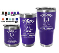 Yoga Cat Dog Gift Tumbler Mug Engraved Travel Custom Cup