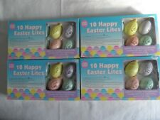 40 Happy Easter Spring Egg Lites 4 new boxes String Lights add on plug