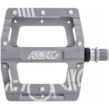 AZONIC AMX PEDAL 420g CNC ALUMINIUM PLATTFORM DOWNHILL DIRTJUMP MTB FAHRRAD GRAU