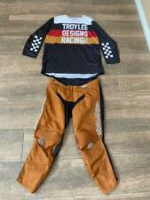 Used Troy Lee Designs Gp Pant Size 36 Jersey Size Xl Free Shipping