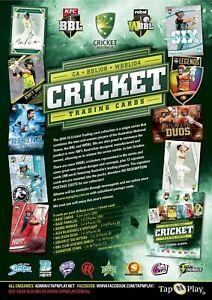 Firmado Inglaterra Cricket 2018 BCE Trading Cards Tap n Play elegir de la lista