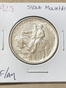 1925 stone mountain silver half dollar