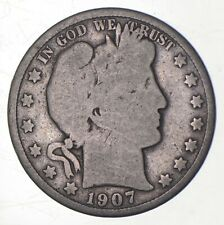 1907 Barber Half Dollar - Charles Coin Collection *294