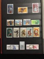 Stamps Canada Fifteen different Olympic mint stamps of 1975/76 See description.