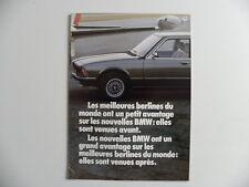 Brochure BMW 728. 730 . 733i  / L'express
