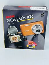 Kodak Orange Easy Share M552 Digital Camera 14MP, 5X Opt Zoom & 2.7