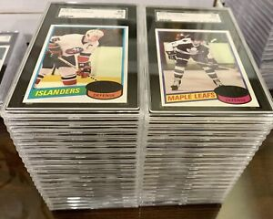 1980-81 Topps Hockey - All SGC Graded YOU PICK Player