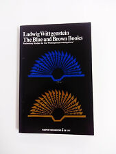 THE BLUE AND BROSN BOOKS Preliminary Studies for the Philosophical Investigation