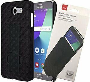 Verizon OEM Shell/Holster Combo with Kickstand for Samsung Galaxy J7/J7 V