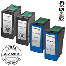 4pk Lexmark 36XL 37XL BLACK & COLOR HY Ink Cartridge for X3650 X4650 X5650 36 37