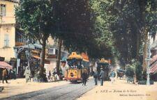 AK Nice - Avenue de la Gare - mit Straßenbahn
