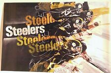PITTSBURGH STEELERS 1968 HOYLE THEME POSTER