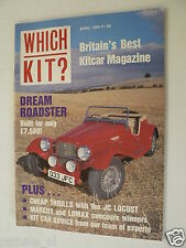 WHICH KIT 1990-04,T&J LOCUST,WEBB,NG TF V8,MARCOS,LOMAX,GP SPYDER