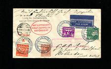 Zeppelin Sieger 83 1930 Breslau Flight Netherlands Treaty Int. Aviation Congress