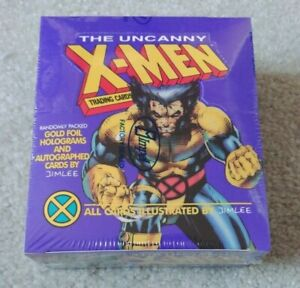 1992 Impel .. Marvel The Uncanny X-Men Factory Sealed 36 Pack Box